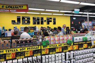 JB Hi-Fi stores still remain open during the coronavirus pandemic, causing angst for a number of its employees.
