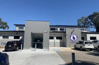 Exterior of the new Cat Protection Society of Victoria building in Greensborough.
