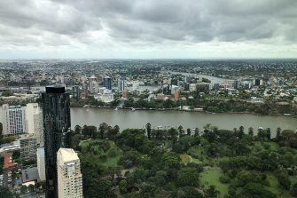 Brisbane and the rest of south-east Queensland woke up to a surprising weather change on Monday morning after days of warm temperatures.