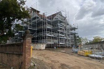 Restoration of Kangaroo Point's Lamb House, or Home as it is correctly named - has begun in August 2021.