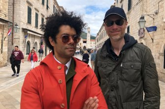 Travel Man starring Richard Ayoade, left, with guest Stephen Merchant.