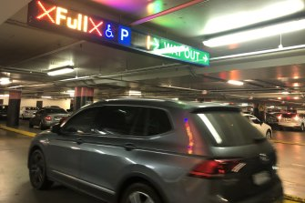 Christmas Eve is one of the busiest times of the year, and Chatswood's Westfield car park had more prangs than any other parking lot in NSW.