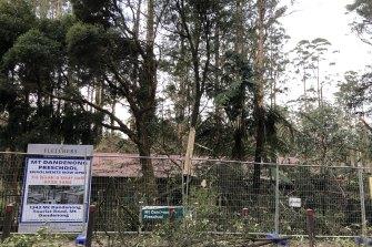 Mount Dandenong Preschool was shut following extensive storm damage.