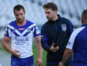 Kieran Foran has played his last game for the Bulldogs after injuring his pec on Saturday.