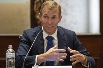 NSW Planning and Public Spaces Minister Rob Stokes.
