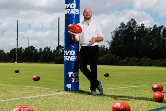 """""""There are unique situations that challenge individuals and obstacles for them to overcome,"""" says director Gil Marsden of his AFL documentary Making Their Mark"""