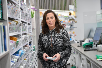 Jane Mitchell says pharmacists' role in the healthcare system must be protected.
