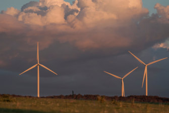 The Capital Wind Farm in NSW, the largest in the state.