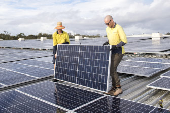 A record 7 gigawatts of new renewable capacity was installed throughout Australia in 2020 off the back of record roof-top solar investment.