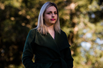 Sydney lawyer Caitlin Akthar says she does most of the household tasks including home schooling during the lockdown because her job is more flexible than her husband's job.