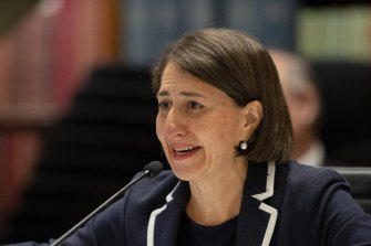 NSW Premier Gladys Berejiklian insists she did not approve a $30 million conservatorium in Wagga Wagga.