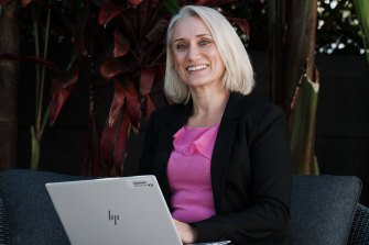 Jodie Pidcock returned to work in banking in February after a four-year break.