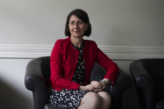 NSW Premier Gladys Berejiklian has endured many ups and down in her five years in the top job.