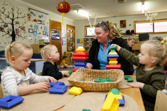 "Economists welcomed the government's $1.7 billion childcare package as a ""step in the right direction""."
