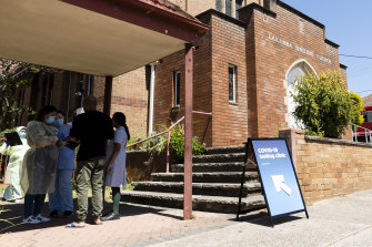 A COVID-19 pop-up clinic has opened in Lakemba on Tuesday.