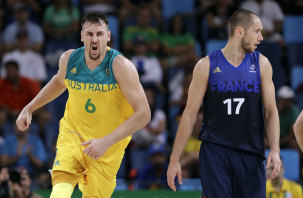 Andrew Bogut has competed in three Olympics for Australia.