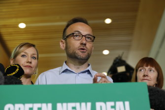 Adam Bandt wants a Green New Deal policy suite for Australia.