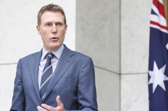 Attorney-General and Minister for Industrial Relations Christian Porter.