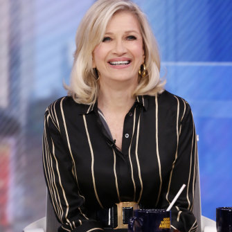 "US TV news doyenne Diane Sawyer, who gave Macdonald the nickname ""Mac"" when he worked for the American ABC network."