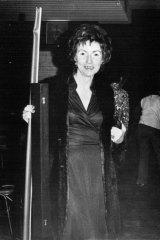 Making a grand entrance... Irene Sheargold on September 11, 1974.