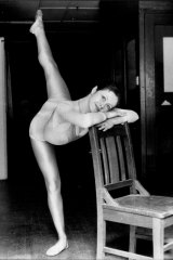 Sheree da Costa, aged 19, shortly after she joined The Dance Company (NSW) to work with Graeme Murphy.