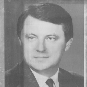 Miklos Nemeth in 1988, when he was nominated by the Communist Party to replace Karoly Grosz as Hungary's prime minister.