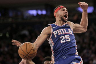Ben Simmons is in the top 25 of Sports Illustrated's top 100 NBA players list.