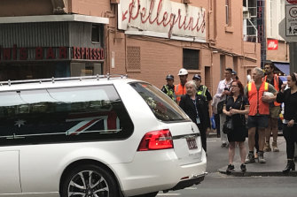 After Sisto Malaspina's state funeral his coffin was driven past past Pellegrini's.