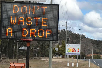 Stanthorpe and Applethorpe are under extreme water restrictions.