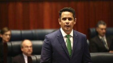 Treasurer Ben Wyatt announced improvement in the state's finances on Wednesday.