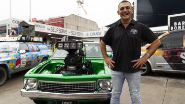Summernats co-owner Andy Lopez.