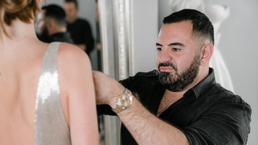 Couturier Steven Khalil is another Australian set to show in Paris for the first time.