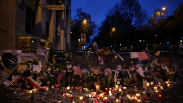 The morning after the terror attack on the Bataclan theatre in Paris in 2015