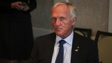 Greg Norman was in Washington, DC, for Malcolm Turnbull's meeting with Donald Trump.