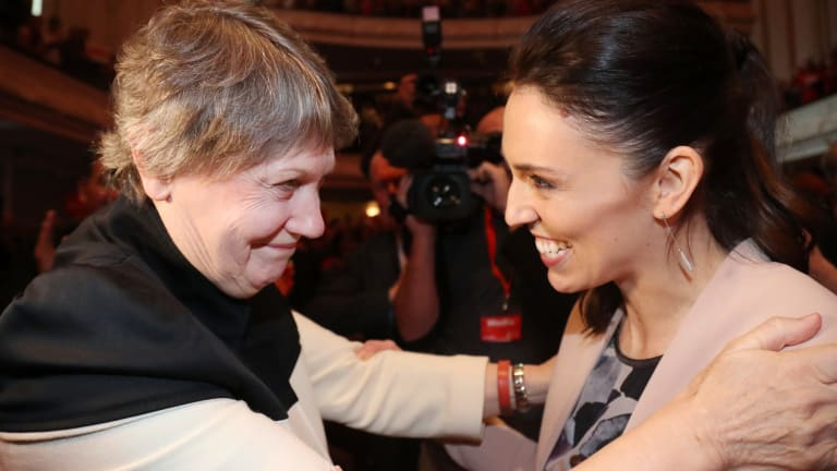 Current New Zealand PM Jacinda Ardern worked for Helen Clark briefly as a university graduate.