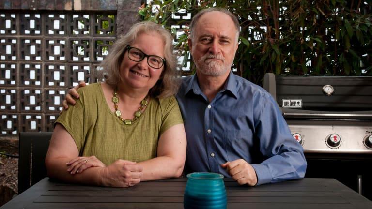 Karen and Frank Alpert gave up their American citizenship 18 months ago.