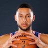 Simmons' jump shot dominates talk at 76ers' training camp