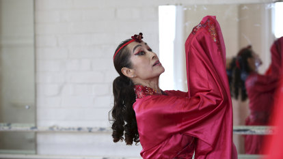 'Dancing queen' puts Asian-fusion centre stage