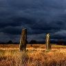 Standing Stones on Machrie Moor, Arran, Scotland.