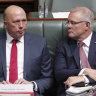 'Just throwing mud': Morrison defends minister over pork-barrelling