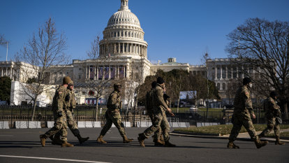 Man arrested with gun, ammo at inauguration checkpoint