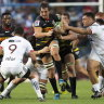 The Stormers and Crusaders in action in Cape Town on the weekend.