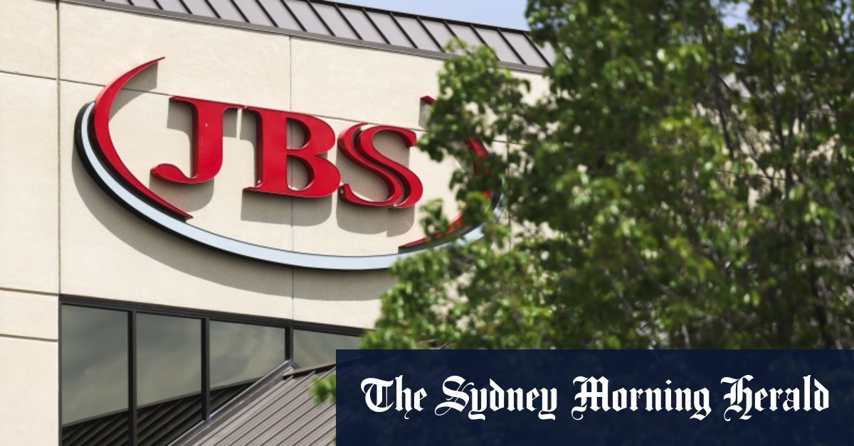 Meat giant JBS confirms it paid $US11 million ransom in cyber attack – Sydney Morning Herald