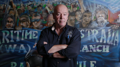 Union leader hits back after Premier labels him a 'coward in hiding'