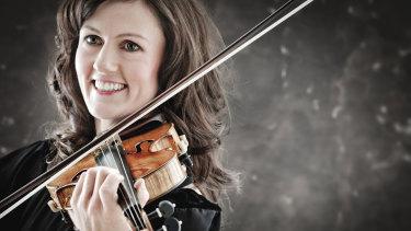 Violinist Sophie Rowell