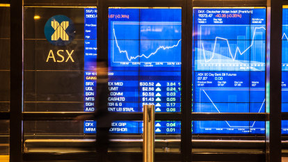 As it happened: Bond surge sends ASX lower, ANZ profits soar