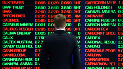 Energy sector drags ASX sharply lower