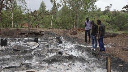 Dozens of people massacred in village attack in central Mali