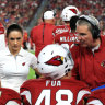 Dr Jen Welter, who was contracted with the Arizona Cardinals in 2015, was the first female coach in the NFL.