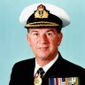 'Dad was like a lighthouse': Vice-Admiral given hero's farewell